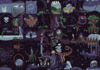 PixelCollabs Quilt: Cave Life